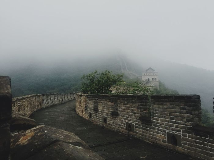 Thegreatwalllofchina Misty Mountains  Beijing Shooting Landscape