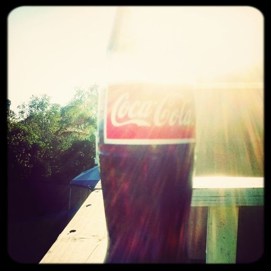 the early coca cola Taking Photos
