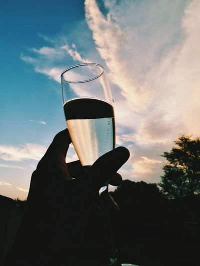 B u b b l y. 🥂 Champagne Indulgence Outdoors Cloud - Sky Young Adult