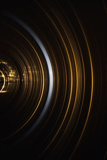 What i see through the lens No People Illuminated Night Indoors  Geometric Shape Circle Motion Shape Close-up Pattern Glowing Light - Natural Phenomenon Black Background High Angle View Blurred Motion Backgrounds A New Perspective On Life EyeEmNewHere