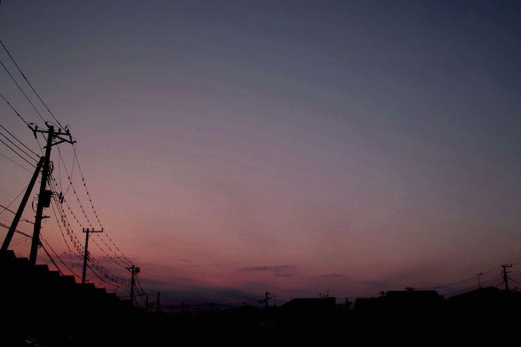 おつかれさま。 SigmaDP1X Twilight Afterglow Sunset おつかれさま