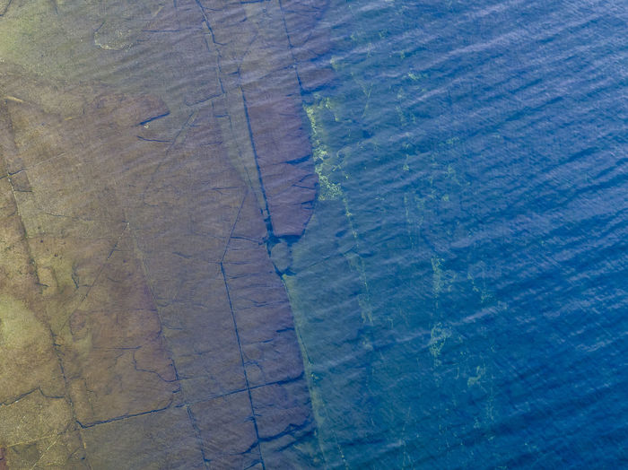 Abstract Photography Baltic Sea Drone  Sweden Abstract Aerial Photography Aerial View Blue Byxelkrok Calm Sea Lime Stone No People Rocks Rocks And Water Sea Sweden Nature Water Waves Öland
