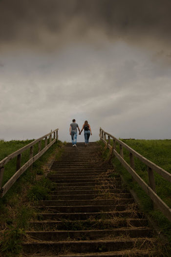 You don't have to see the whole staircase, just take the first step... Two People Togetherness Full Length People Adult Walking Cloud - Sky Day Outdoors Steps And Staircases Sky Love Young Adult Happyness Happyness <3 Doel België Doel Belgium Doel Investing In Quality Of Life The Week On EyeEm EyeEmNewHere Connected By Travel