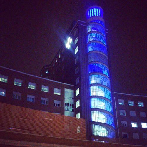 Cruces Gurutxeta Hospital Azul