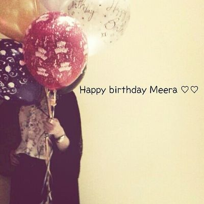 my birthday*o*