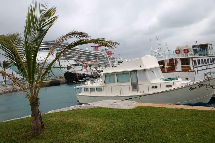 EyeEm Selects Bermuda Cloud - Sky Nautical Vessel Water Travel Destinations No People First Eyeem Photo