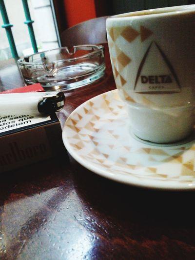 Coffe Time Coffee And Cigarettes Marlboro