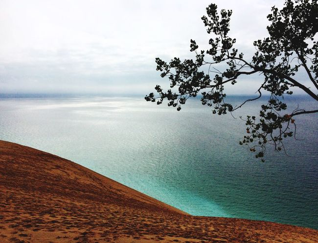 Sleepingbeardunes Coastline Northernmichigan Hikingadventures Latesummer Beauty Horizon Over Water Gorgeous Beauty In Nature Water Beach Sand Majestic