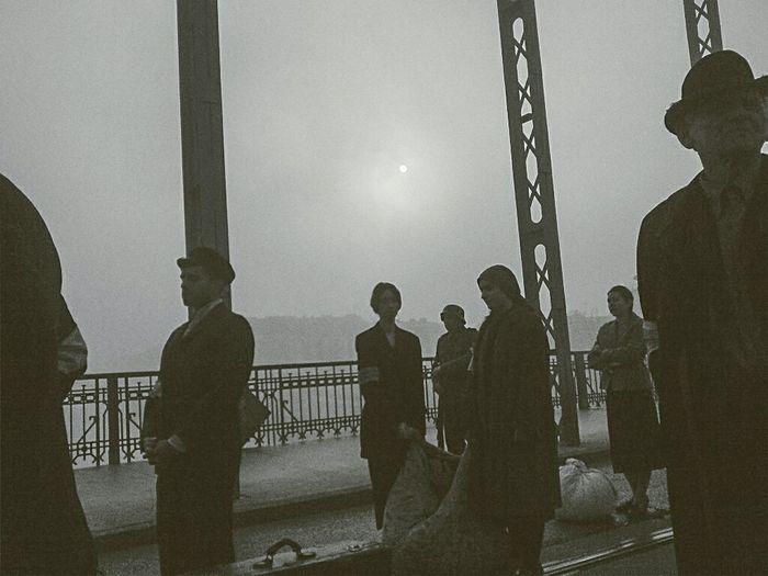 Shades Of Grey Blackandwhite Photography Fog Foggy Morning