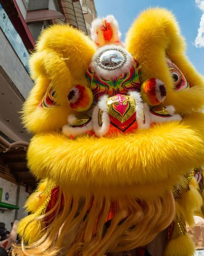 Light And Shadow Chinese Culture Chinese Traditional Culture Streetphotography Celebration Yellow No People Chinese New Year Indoors  Day Chinese Dragon Close-up