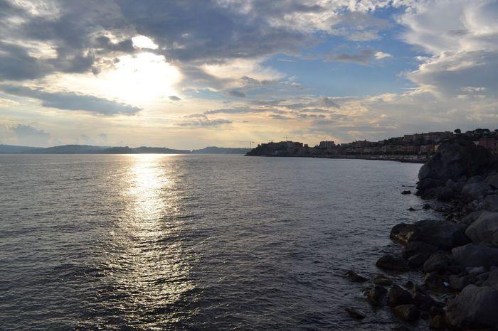 Pozzuoli Pozzuoli, Sunset, Campania Italy Napoli