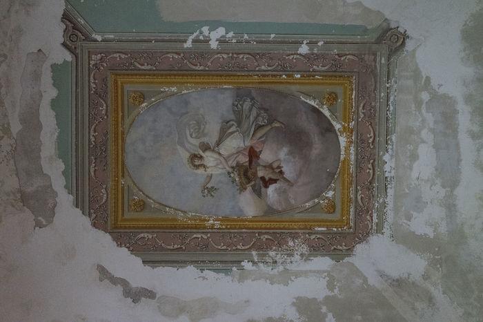 reale sito di Carditello CARDITELLO Close-up Day Fresco History Human Representation Indoors  No People