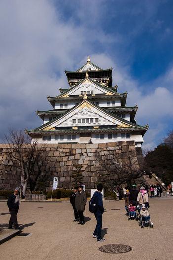 大阪城 Japan Japón