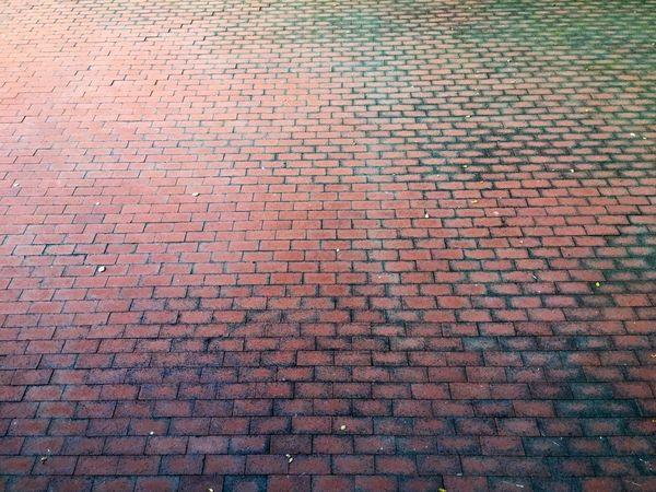 Bricks Brick Patio Things Organized Neatly