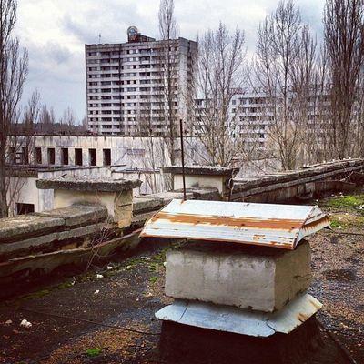 Виды перспектив чернобыль припять дк_энергетик Chernobyl pripyat