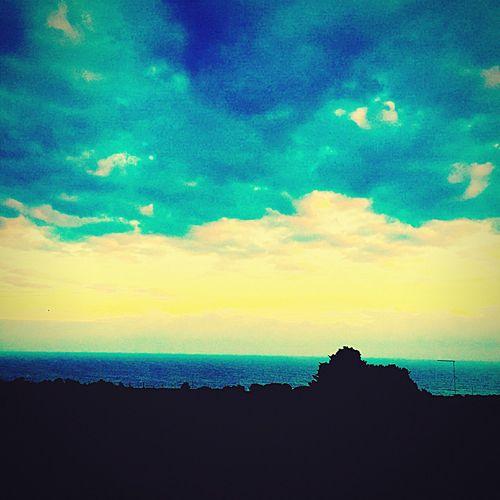 The Fire In The Sky Il Fuoco Nel Cielo Coseamuzzo Coseacaso Sole...☀ Paesaggio First Eyeem Photo Nuvole Sun Clouds