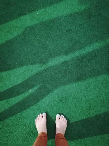 A sea of grass. Green Color Standing Directly Above Shadow Astro Turf Soccer Soccer Tournament⚽ Fun Foot Selfie Perspective Personal Perspective