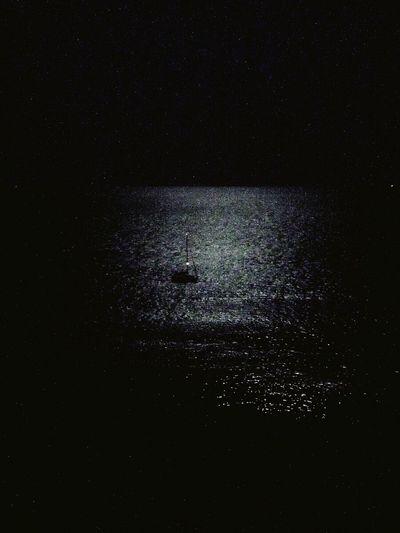 Moon Moonlight Moon In The Sea Moon In The Water Night Nightphotography Quiet Ventotene