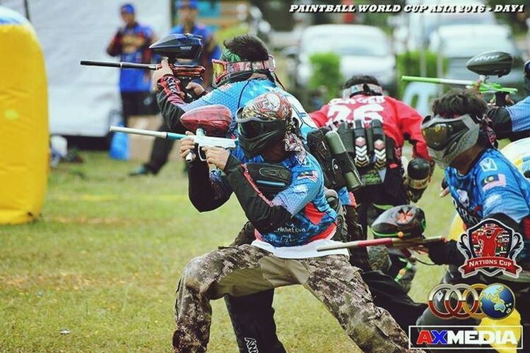 Paintball World Cup Asia 2016 Division 2 Team Johor Pirates Malaysia Wan Mad Photography AXMedia Paintball Photography Paintball Life Dye Planet Eclipse Macdev HK Army JT Nations Cup Bob Tahar Photography