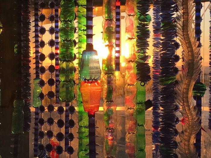 Multi Colored Variation Illuminated Sunlight Hanging Decoration