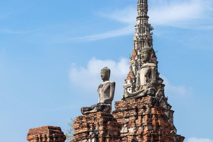 Wat chaiwatthanaram temple. it is one of ayutthaya most impressive temples.