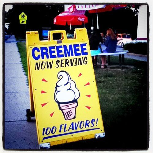 It's a nice hot day for creemees! #Milton #btv Dessert Ice Milton Btv Creemee