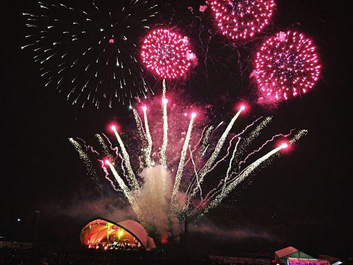 Concert Fireworks Derbados Darley Park