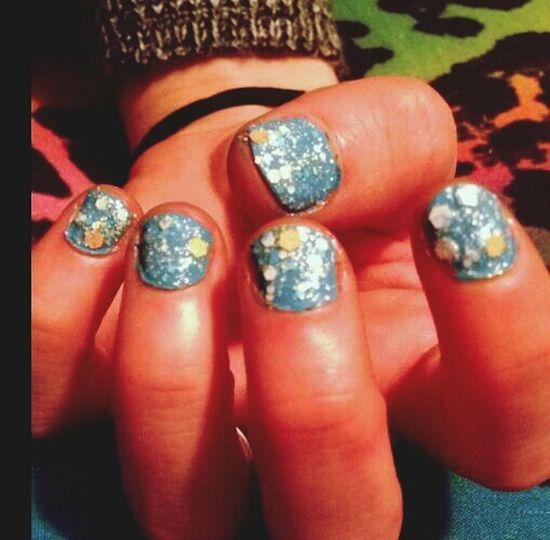 Christa did my nails! NailsDone❤❤ Rainbow <3 Cheetah Print ❤ Igotspots