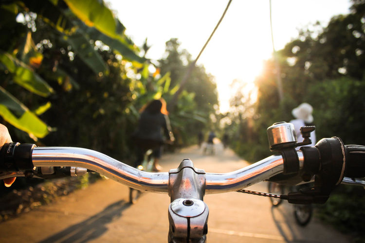 Bicycle Biker Close-up Day EyeEmNewHere Focus On Foreground Helmet Land Vehicle Men Mode Of Transport Motorcycle One Person Outdoors People Real People Riding Road Sunlight Transportation Tree Let's Go. Together.