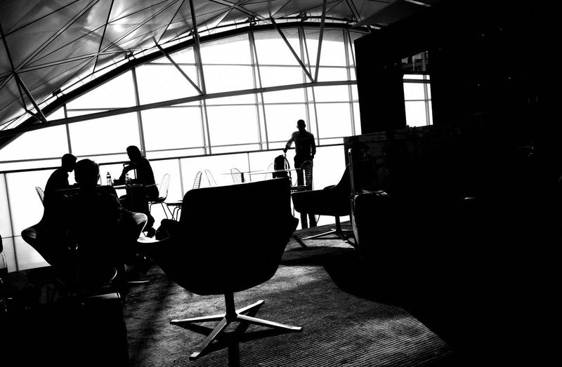 HongKong Ricoh GRlll Silhouette Window Indoors  Real People Group Of People Built Structure Architecture Sunlight Lifestyles Glass - Material Leisure Activity Nature Day Arts Culture And Entertainment Women Men People Adult Sky