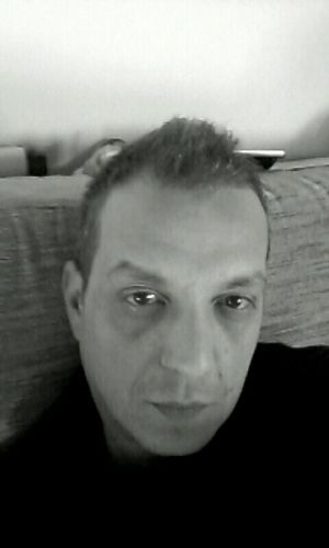Good afternoon That's Me Self Portrait Selfie Blackandwhite Black And White Portrait StaySexyOver40 Relaxing Hanging Out