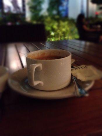 Alone... Coffee Time Enjoying Life Jakarta