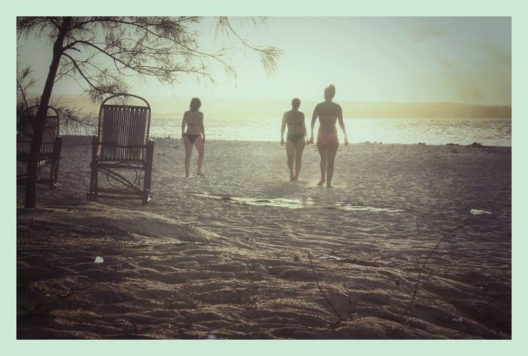 Enjoying Beach