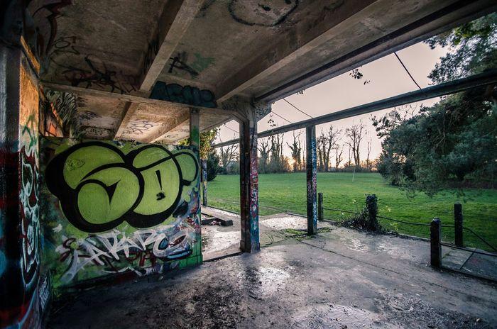 Urbex Abandoned Places Abandoned Urbexexplorer Belgium Tournai Graffiti Tag Morning Broken
