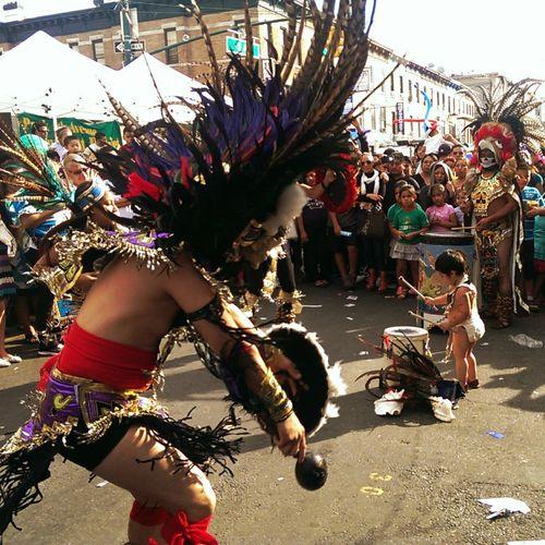 """""""Aztlan x Brooklyn"""" Aztec Brooklyn Tribal Mexicanos"""