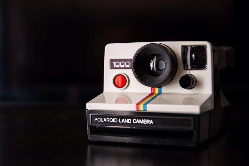 Instagram. Hardware version. Photography Camera Porn Vintage Polaroid