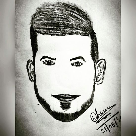 ArtWork Art, Drawing, Creativity Hairstyle Face Handsome it's my passion to draw something like this 😆😉 That's Me Hello World Check This Out