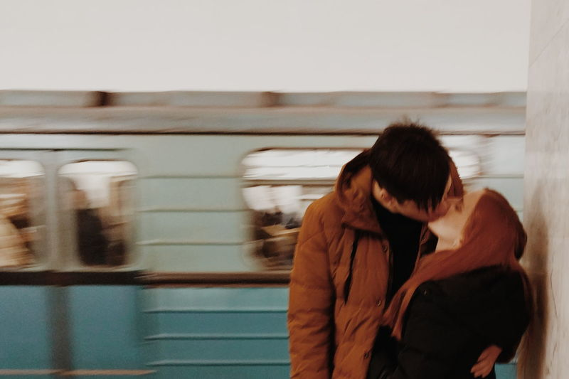 Kiss Young Adult Woman Man Kiss Youth Underground Burnmyeyes Spicollective Red VSCO Vscocam