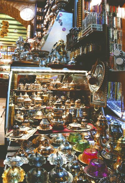 Arrangement Art And Craft Choice Cultures Decoration Design Grand Bazaar Indoors  Istanbul Istanbul Turkey Large Group Of Objects Retail  Variation Vscocam