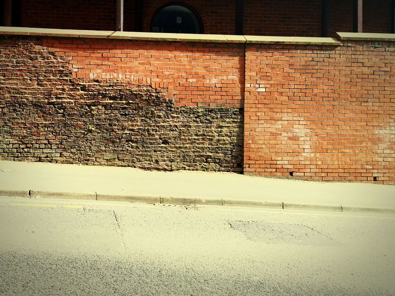 Old to new Old To New Old Brickwall Brickwork  EyeEmNewHere EyeEm Gallery EyeEm Eyeem Architecture Lover Eyeem Architecture Full Frame Backgrounds Textured  Architecture Brick Wall Brick Wall Weathered Wall - Building Feature Exterior Worn Out