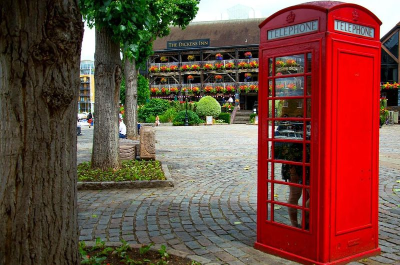 Telephone Booth Red Telephone Pay Phone Communication Tree Connection Outdoors Old-fashioned London London_only London Lifestyle London Streets Stcatherines Dock Londonthroughmycam Londonstreets Vscolondon Igerslondon Iglondon ILoveLondon LondonLove Londonlover Visitlondon Visitlondonofficial Postcode Postcards