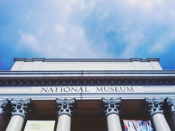 Clear Sky Architecture Sky Low Angle View Day Outdoors No People Philippines Philippines Photos Manila Phillipines Manila ManilaPH Low Angle View Museum Nationalmuseum