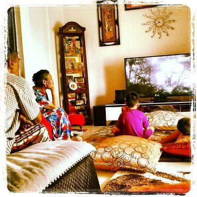 My Saturdate wz in-laws in da homie Farokparentsvisiting 2lilnefsdrivingtheunclecrazy Mfarokomar