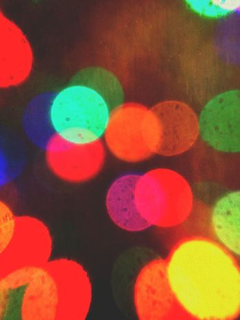 Christmas tree light blur Abstract Background Bokeh Bright Christmas Christmas Lights Circle Circles Colorful Colour Colourful IPhoneography Light Lights No People Pattern Round Victoria Gardner