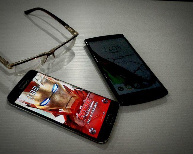 Samsung Galaxy S6 Edge VS LG G4 Samsung Samsunggalaxys6edge Galaxys6edge LG  LGG4 G4 Smartphones Smartphonephotography Taken From Smartphone Camera My Smartphone Life