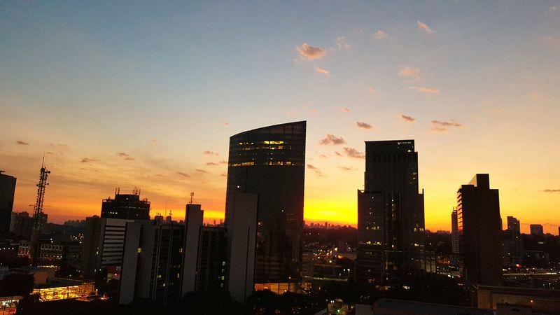Sunset Apartment View Sampa