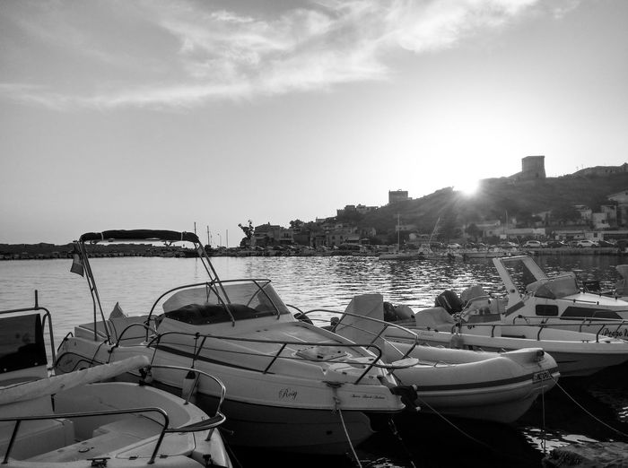 Essential... Nautical Vessel Sea Beach Water Transportation Nature Day Travel Destinations No People Mode Of Transport Life Is Motion Sicily, Italy Sun Sea And Sky Relaxing Blackandwhite Monochrome Blackandwhite Photography Essential Sicilia Siciliabedda Portopalo Menfi I Love Sicilia Travel Photography