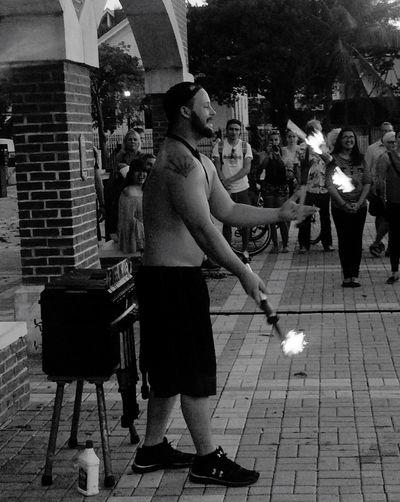 Juggler at Mallory Square Sunsetcelebration Keywest Florida