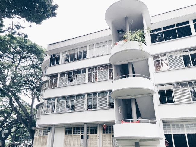 Old buildings Singapore History HDB Tiong Bahru Architecture Travel