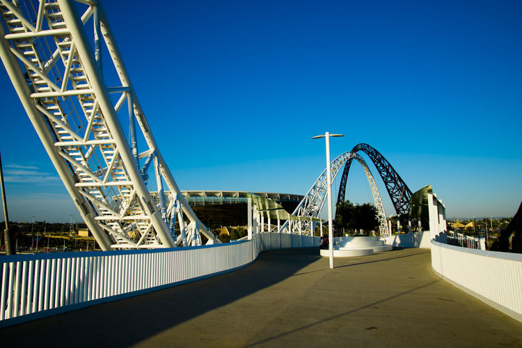 Matagarup Bridge Australia Western Australia Perth City CBD Matagarup Bridge Architecture